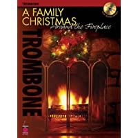 A Family Christmas Around the Fireplace