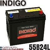 INDIGOバッテリー ラクティス【型式DBA-NSP125 2010年11月~ 1NR-FEエンジン CVT 寒冷地車】