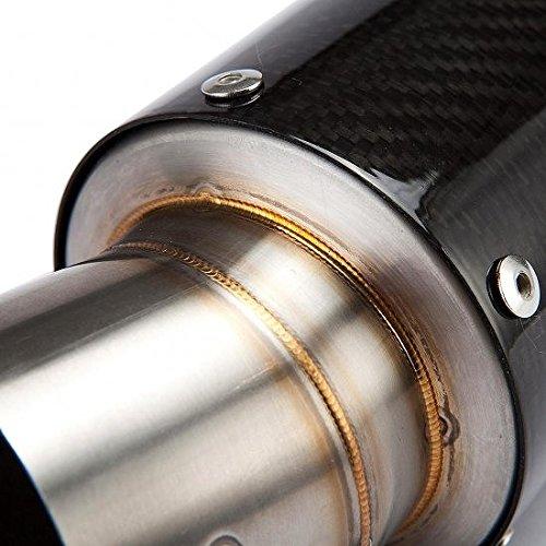 Ducati Diavel(ディアベル) カーボンスリップオンマフラー バッフル付き