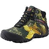 (デザート)Dessert レッキングシューズ 登山靴 メンズ アウトドアスニーカー ハイキング ウォーキングシューズ 黄緑 26.5CM