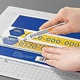 プラス ラベル いつものラベル FSC認証紙 ノーカット 100枚 ME-500T 48-630 画像