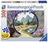Ravensburger Into a New World 13576 300 Piece Large Pieces Jigsaw Puzzle for Adults, Every Piece is Unique, Softclick Technology Means Pieces Fit Together Perfectly