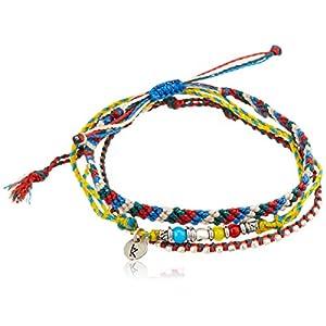 [ワカミ] wakami アンクレット 3 Strand Stone Anklets Multicolor WA-BC17016