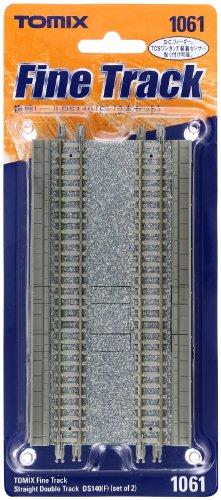 Nゲージ関連用品 複線レール DS140 (F) (2本セット) 1061