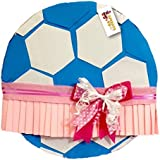 Soccer Ball with Tutu Gender Reveal Pull Strings Pinata