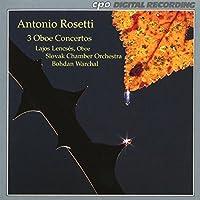 Rosetti: 3 Oboe Concertos (1995-01-25)