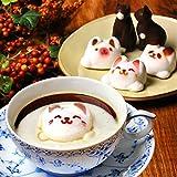 まとめ買い Latte マシュマロ ラテマル 3個 ねこ チョコレート 2個 動物 スイーツ お菓子 詰め合わせ お家の箱入り 10箱 セット