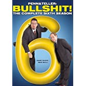 Penn & Teller Bullshit: Complete Sixth Season [DVD] [Import]