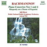 RACHMANINOV: Piano Concertos Nos. 1 and 4 / Rhapsody on a Theme of Paganini by Idil Biret (2006-08-01)