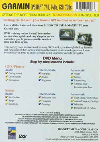 Garmin 740 740s 720 720s Touchscreen Chartplotter [DVD] [Import]