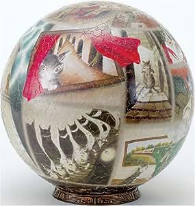 3D球体パズル わちふぃーるど 960ピース タシールエニット博物館 (直径約30.5cm)