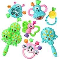 Baby Toys 3 – 6-12ヶ月Baby Rattles教育玩具0 – 1年古いランダム色