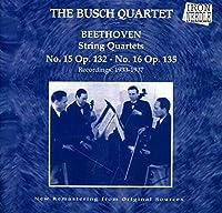 String Quartet 15 & 16