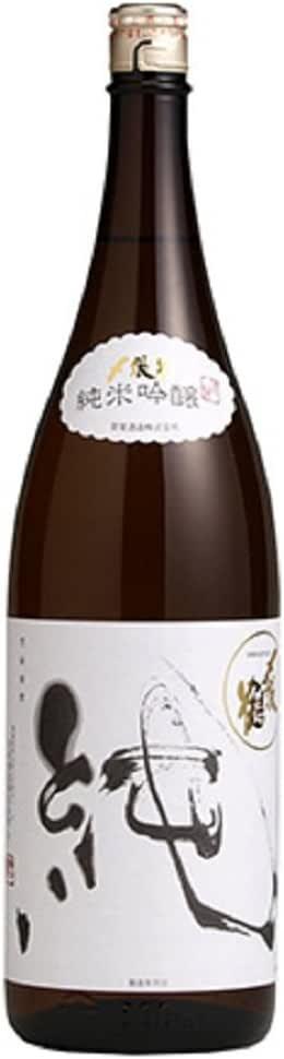 〆張鶴 純 純米吟醸 15度 1800ml(宮尾酒造)(新潟)