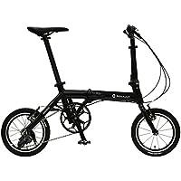 ルノー(RENAULT) 折りたたみ自転車 ULTRA LIGHT7 Limited Edition AL-FDB143 14インチ 軽量アルミフレーム 3段変速 ハンドル高さ調整機能搭載 Vブレーキ