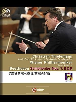 ベートーヴェン:交響曲第7番/第8番/第9番「合唱」(ティーレマン/ウィーン・フィル)