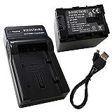 SIXOCTAVE ビクター BN-VG138 BN-VG129 互換バッテリー&カメラ バッテリーチャージャー USB 充電器 AA-VG1 の2点セット BNVG138tUSBAAW
