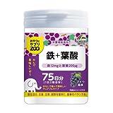 ユニマットリケン おやつサプリZOO 鉄+葉酸 150g