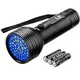 LE LED 51灯 UV 懐中電灯 紫外線ブラックライト ハンドライト ミニ 携帯 ジェルネイル用