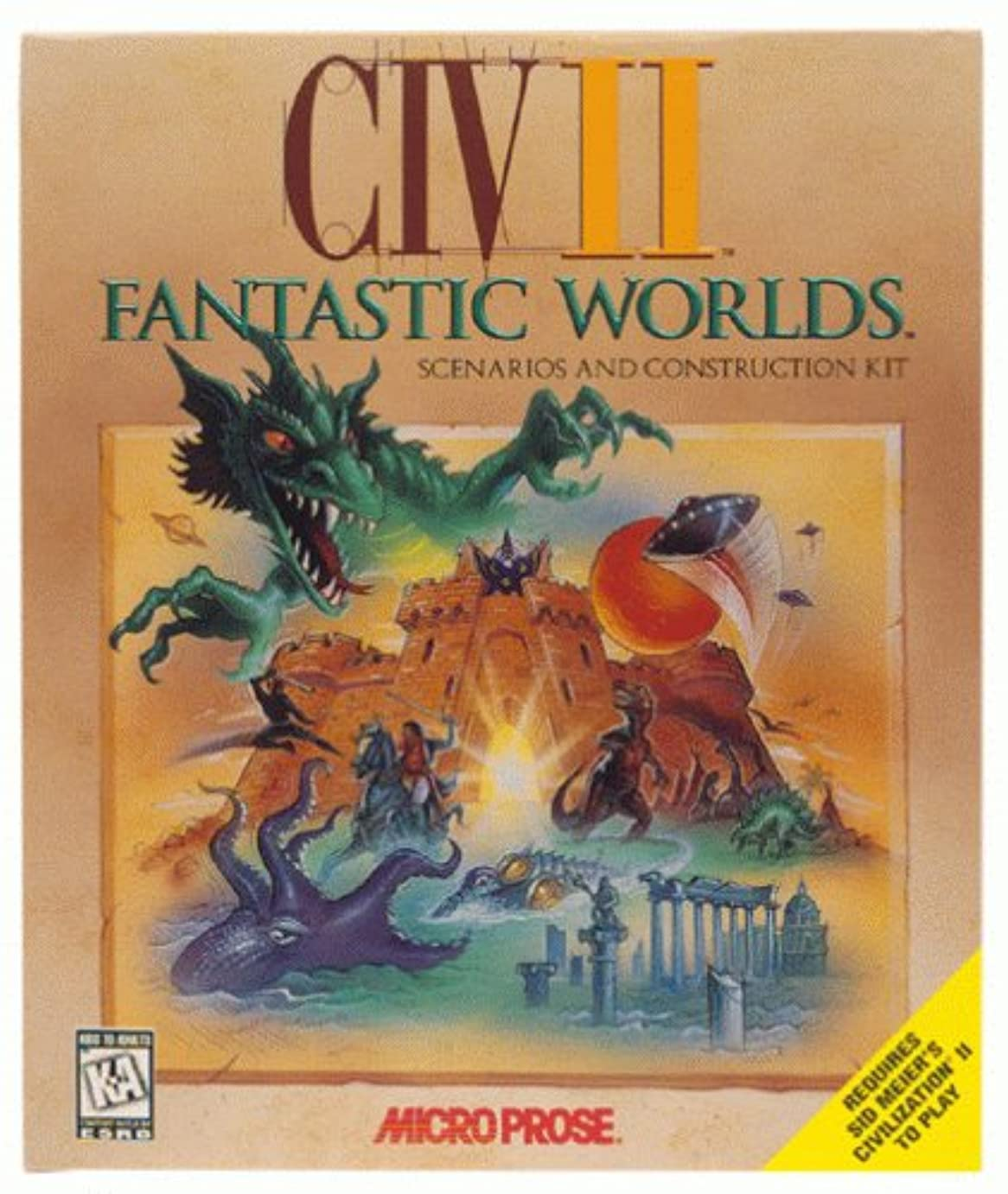 重荷繁栄するネブCivilization II Expansion: Fantastic Worlds (輸入版)