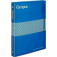 コクヨS&T キャンパス スライドバインダー (ミドルタイプ) PP表紙 B5 縦 26穴 青 100枚 ル-P334B