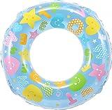 ヒオキ 浮き輪 50cm キラキラポップ