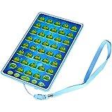 perfk 2カラー選ぶ 電子おもちゃ プラスチック製 クーラン アラビア語 学習機 教育玩具 - 青