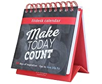 Fitlosophy Fitdesk 365-Day Perpetual Calendar for Daily Fitness Inspiration 【Creative Arts】 [並行輸入品]