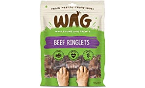 Beef Ringlets 750g, Grain Free Hypoallergenic Natural Australian Made Dog Treat Chew, Perfect for All Sizes & Breeds