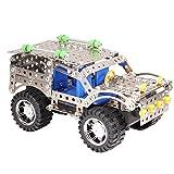 METAL MODELS SUV自動車 3D金属パズル 科学 実験 キット ブースト慣性搭載 組立て300pcsセット 6歳から 幼児 子ども キッズ おもちゃ ..