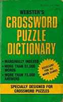 Webster's Crossword Puzzle Dictionary (More Than 31,000 Words More Than 73,000 Answers)