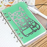 Moe Cat Template,JoyTong Portable Stainless Steel Planer Stencil Size 5.23テδ2.87 by JoyTong