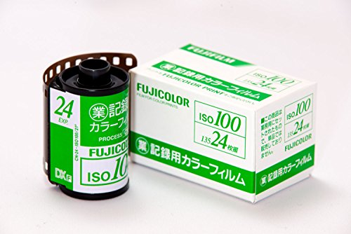 FUJIFILM フジフイルム 業務用フィルム ISO100 24枚 (10本セット)