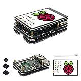 For Raspberry pi ディスプレイ 3.5 インチ LCD モニターTFTスクリーンタッチスクリーンそしてfor raspberry pi 3 model b+ ケース ヒートシンク