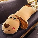 POGO犬長い枕クッションベッド枕かわいい眠っている枕カーピロー(80CM) ( Color : Alice mouth )
