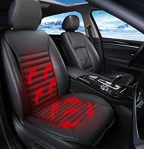 Big Ant シートヒーター 車載 座席ヒートクッション ホットカーシート ブラック 12V