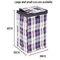 JIAJUAN 折りたたみ式 ハンドキャリー ハンドトロリー 鋼管 折りたたみ可能 負荷 食料品の買い物 水を引き、 3色、 2サイズ (設計 : Shopping Bag)