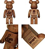 BE@RBRICK KARIMOKU カリモク HOUSE INDUSTRIES 400% CHERRY WOOD 1000% fragment