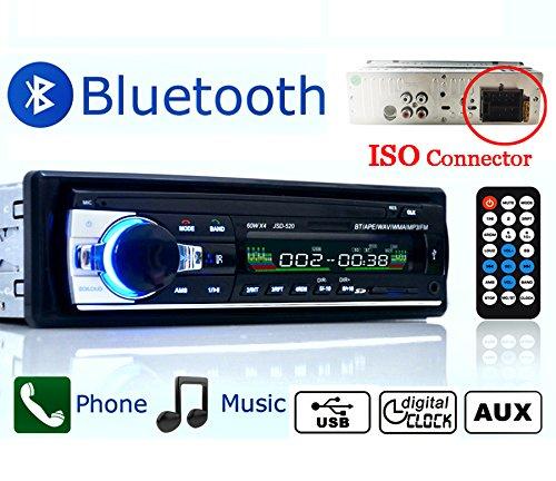 Eaglerich 自動車ラジオ Bluetooth 車音響 カーオーディオ ステレオ プレーヤー ...
