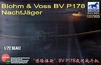 ブロンコモデル 1/72 ドイツ ブロームウントフォスBv P178夜間戦闘機 プラモデル CBF72005