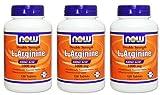 【3個セット】 [海外直送品] Lアルギニン 1000mg(海外直送品) L-Arginine 1000 mg - 120 Tabs