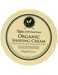 Taylor of Old Bond Street Organic Shaving Cream w/ Aloe & Jojoba *New* 5.3 oz. by Taylor of Old Bond Street