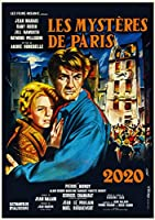 カレンダー 2020 [12 pages 20x30cm] JEAN MARAIS Vintage レトロFilm Collection 映画 ポスターs