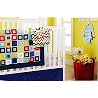 New 10 pcs Baby Boy Crib Bedding Set [並行輸入品]