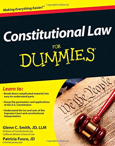 Download Constitutional Law For Dummies 1118023781
