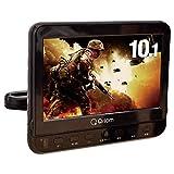 [山善] ヘッドレストモニター DVDプレーヤー 10.1インチ(16:9) 車載用 CPRM対応 リモコン付き CPD-M101(B) [メーカー保証1年]