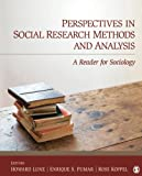 Perspectives in Social Research Methods and Analysis: A Reader for Sociology 画像