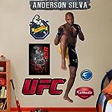 (25x74) Anderson Silva UFC Fathead Wall Decal by Poster Revolution [並行輸入品]