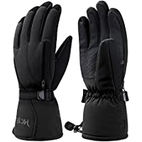 MCTi Waterproof Mens Ski Snowboard Snow Gloves Winter Warm Thinsulate Extreme Cold Weather Outdoor Thermal Gloves Windproof