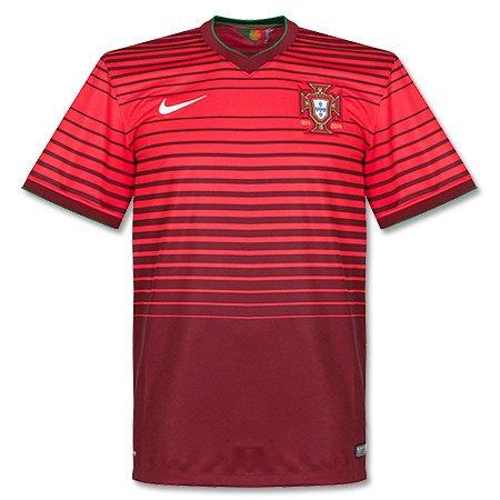 ナイキ(NIKE) ポルトガル DRI-FIT S/S ホームスタジアムジャージ 577986 677 チームレッド/Aレッド S